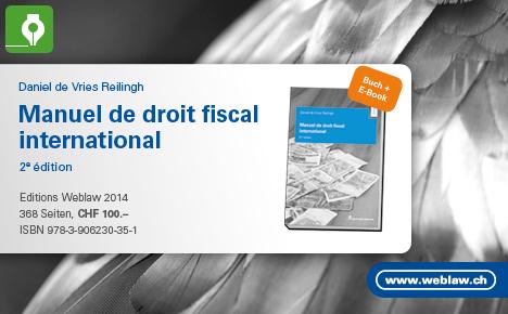 Manuel de droit fiscal international