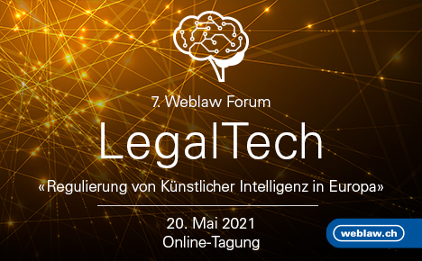 7. Weblaw Forum – Regulierung von Künstlicher Intelligenz in Europa