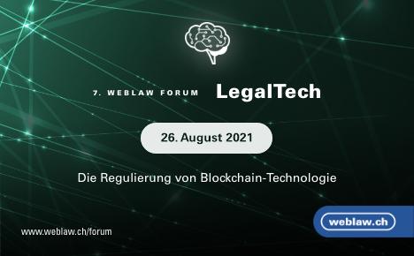 Weblaw Forum LegalTech August