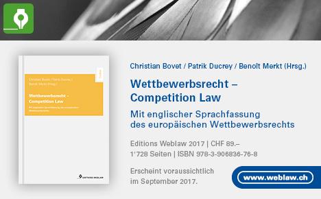 Wettbewerbsrecht Buch