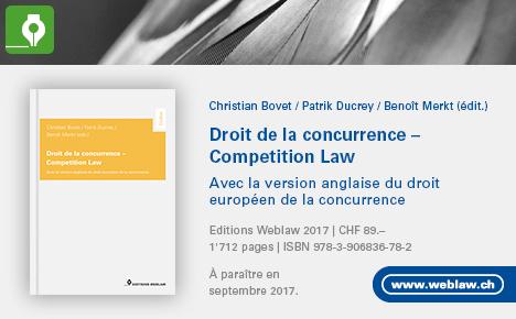 Droit de la concurence – livre