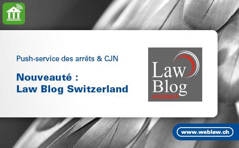 Law Blog Switzerland