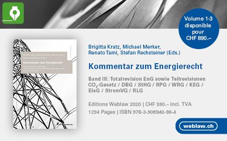 werbung von das Kommentar zum Energierecht Buch