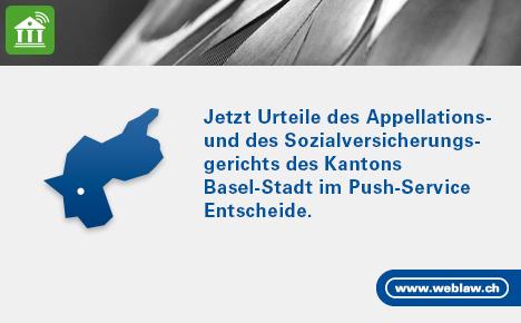 Push Service Basel Stadt