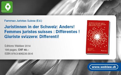 Femmes juristes suisses : Différentes !